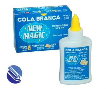 Cola Branca New Magic 40 g