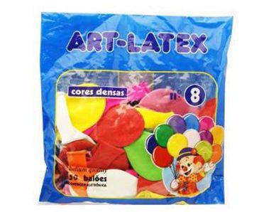 Balão N 8 cores C50 ART LATEX