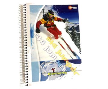 Caderno Espiral Capa Dura Maxima 200 fls 2