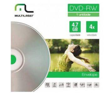 DVD RW Multilaser capa