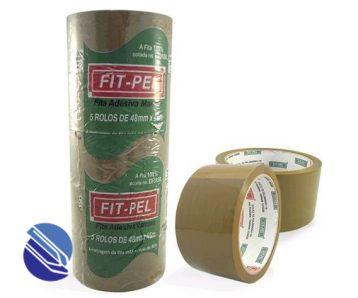 Fita Adesiva Durex 45mm x 45 m marrom FITPEL