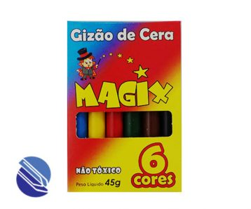 Gizão de Cera Grosso C06 cores Magix