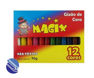 Gizão de Cera Grosso C12 cores Magix