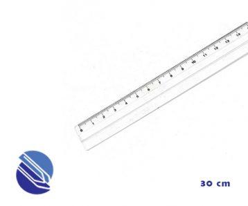 Régua Acrílica 30 cm Acrinil plastica