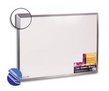 quadro branco aluminio 120 x 150 cm cortiarte