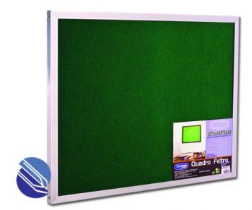 quadro feltro aluminio 150 x 120cm cortiarte