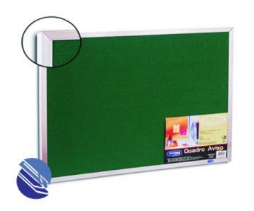 quadro feltro aluminio 90 x 60cm cortiarte