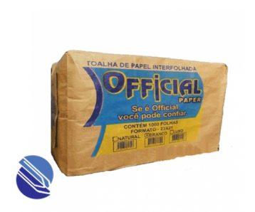 Papel Toalha Interfolhado 20X21cm Official Paper Branco