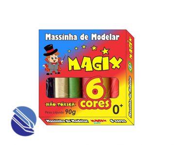 Massa Modelar C6 Cores Magix