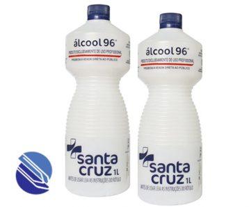 Alcool 96 Santa ruz 1 litro